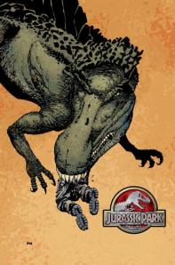 I'd rather the dinosaur eat me than make me read this comic book.