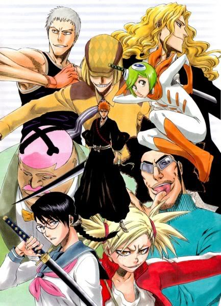 Bleach - The Vizards