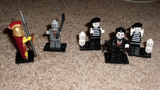 My dream of having LEGO Zombies fight LEGO Spartans is finally a reality.