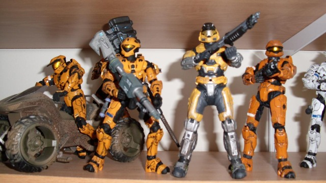 "Well, I guess McFarlane Toys wasn't lying. They really aren't ""Orange""."