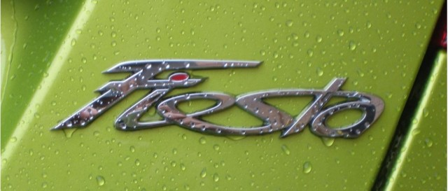 The Ford Fiesta logo is like the coolest thing I've ever seen.