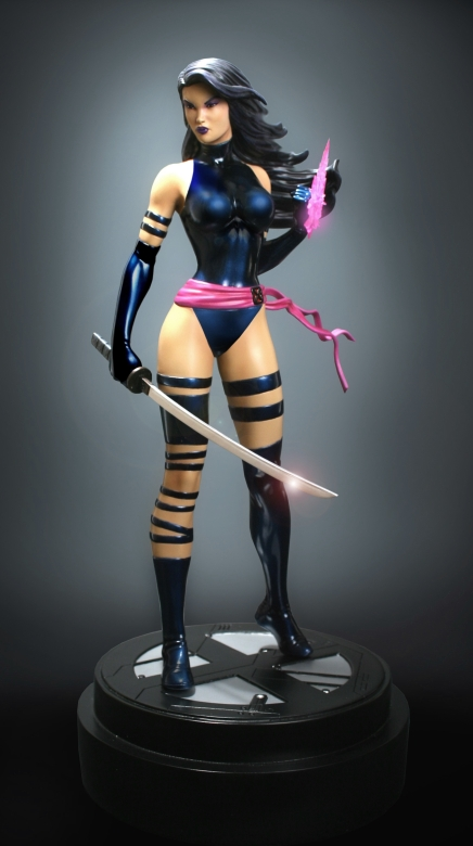 Bowen Designs Full Size Statue - Psylocke