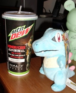 Totodile does not approve of this promotion.