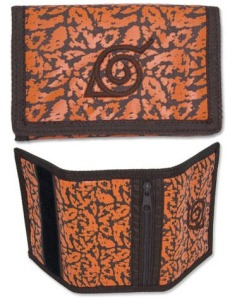 This wallet was made in a fictional ninja village. Believe it!