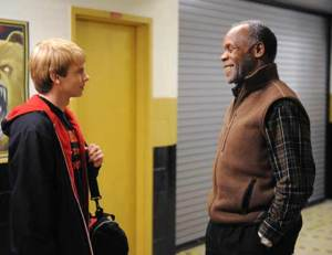 Cal receives sage wisdom from Danny Glover