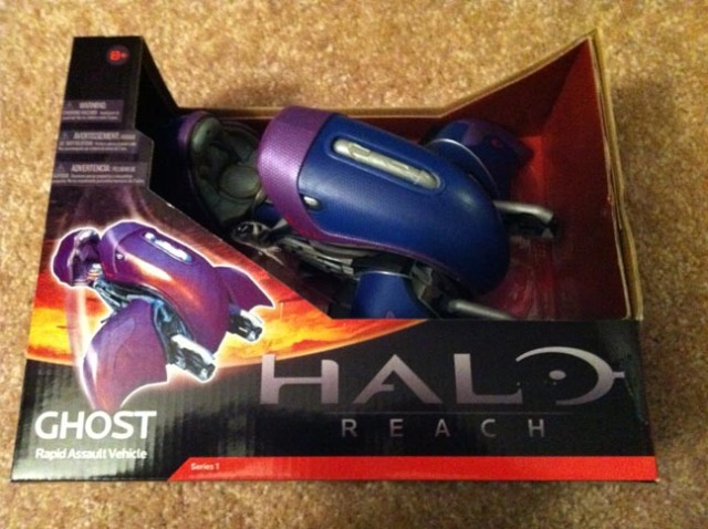 Halo Reach Covenant Ghost in the Box