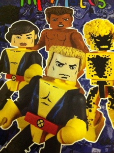New Mutants Minimates