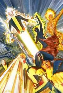 New Mutants Cover by Alex Ross