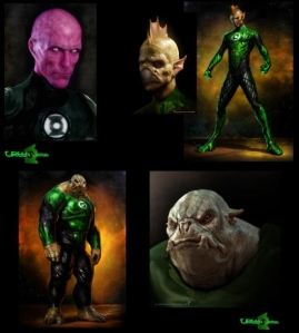 Green Lantern Movie Aliens