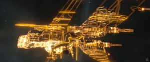 The Light Fighter Jets woulda been a wild surprise if they hadn't shown them in the trailer.
