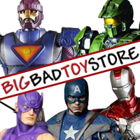 BigBadToyStore is the best store on the Internet for all your collecting needs: Marvel, Halo, Star Wars, Transformers, Gundam, My Little Pony and More!