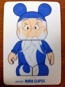 "Disney Vinylmation 9"" Artist Card Merlin by Maria Clapsis"
