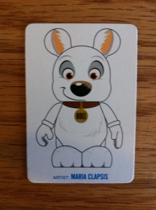 Disney Vinylmation Bolt Artist Card