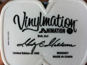 """Disney 9"""" Vinylmation Bolt Feet"""