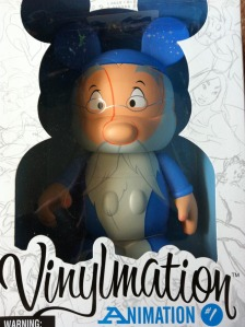 "Disney Vinylmation 9"" Merlin Animation Series 1 Boxed"
