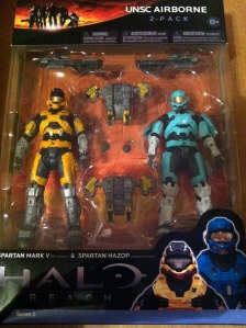 HALO Reach Series 2 UNSC Airbourne Spartans Two-Pack