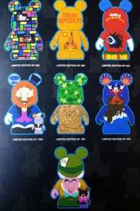 "Disney Vinylmation 9"" Park 5 Series Vinyl Lineup"