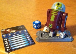 R7-A7 with Die, Stand, and Game Card