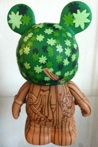 "Disney Vinylmation 9"" Park 5 Series Animal Kingdom Tree of Life Back"