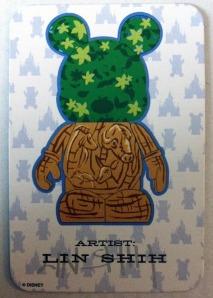 """Disney Vinylmation 9"""" Park 5 Series Animal Kingdom Tree of Life Artist Card"""
