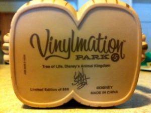 """Disney Vinylmation 9"""" Park 5 Animal Kingdom Tree of Life Feet"""