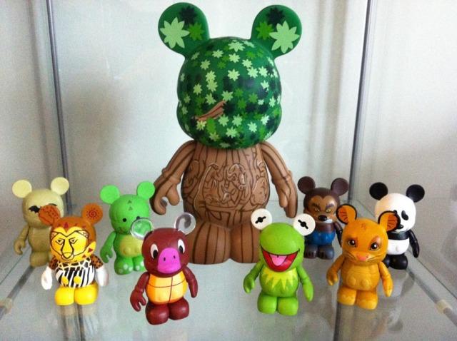 "Disney Vinylmation 9"" Park 5 Animal Kingdom Tree of Life"