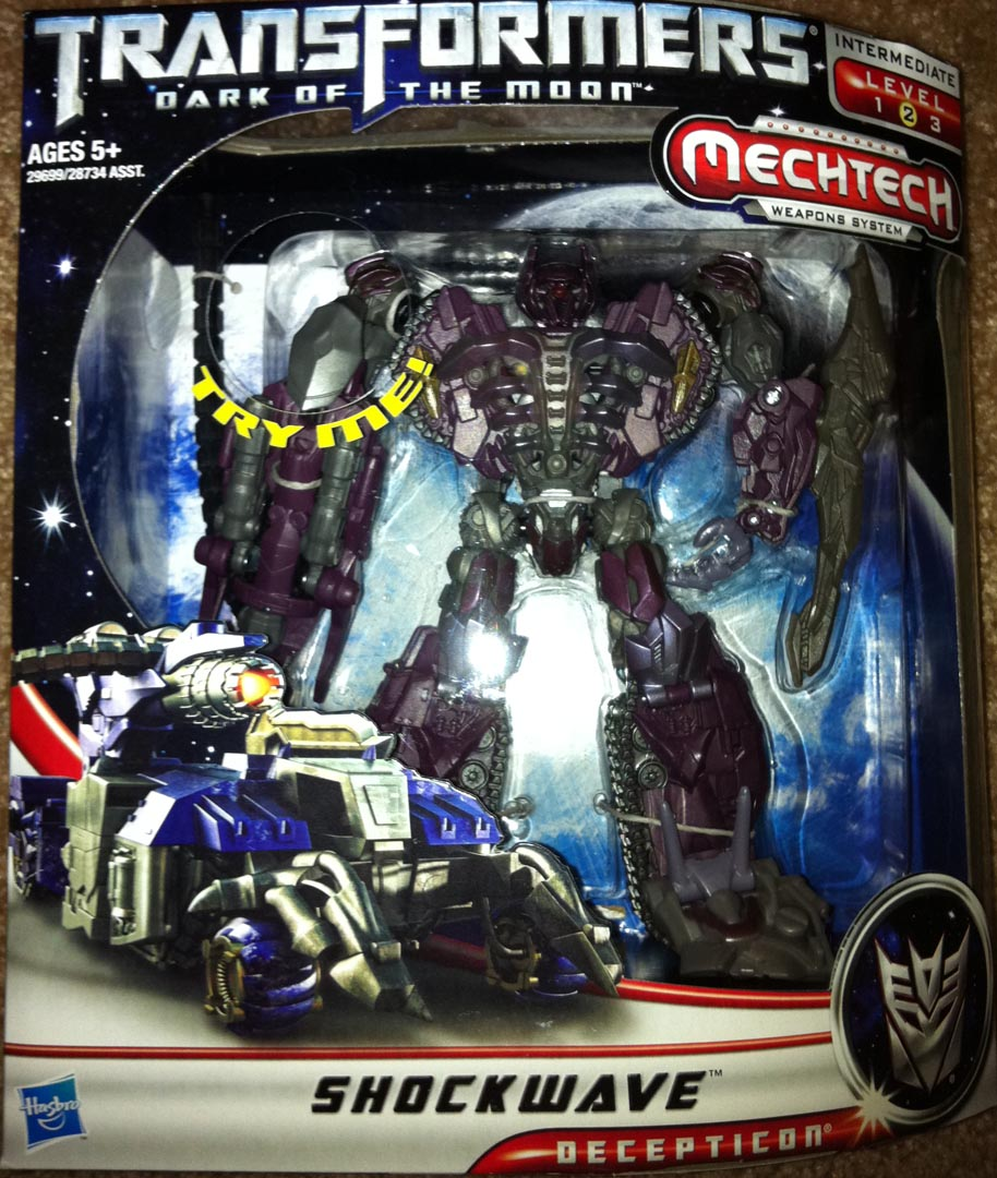 TOY REVIEW: Transformers 3 Dark of the Moon Voyager ...