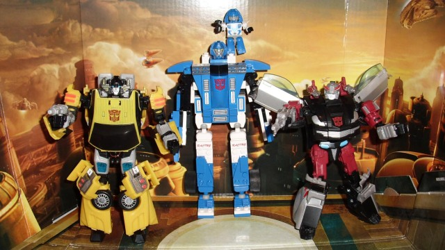 Kre-O Mirage and Transformers Classics Autobots