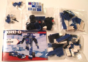 Kre-O Mirage Unpacked