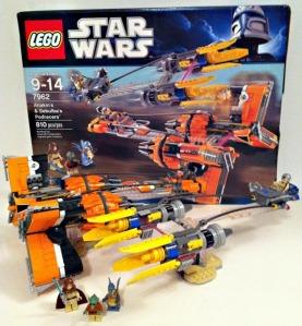 LEGO 7962 Anakin Skywalker & Sebulba's Podracers