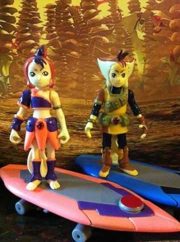 Thundercats  Toys on Toy Review  Thundercats Wilykit And Wilykat Action Figures  Bandai