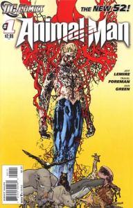 Animal Man #1 Cover (DC Comics - The New 52)