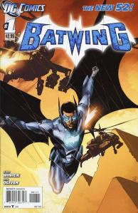 Batwing # 1 Cover (DC Comics -- The New 52)