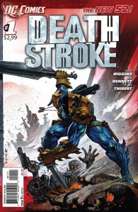 Deathstroke #1 Cover -- DC Comics The New 52
