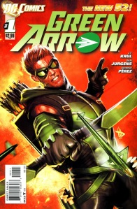 Green Arrow #1 Cover (DC Comics - The New 52)
