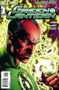 Green Lantern #1 Cover (DC Comics The New 52)