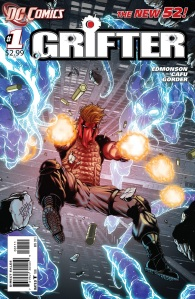 Grifter #1 Cover DC Comics The New 52