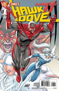 Hawk & Dove # 1 Cover (DC Comics - The New 52)