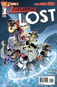 Legion Lost #1 Cover (DC Comics -- The New 52)