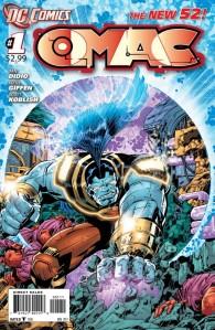 OMAC #1 Cover (DC Comics -- The New 52)