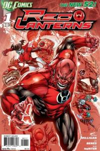Red Lanterns #1 Cover (DC Comics -- The New 52)