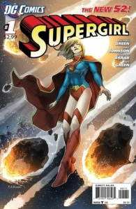 Supergirl #1 Cover DC Comics New 52