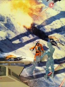 Marvel Universe Iceman vs. Luke Skywalker