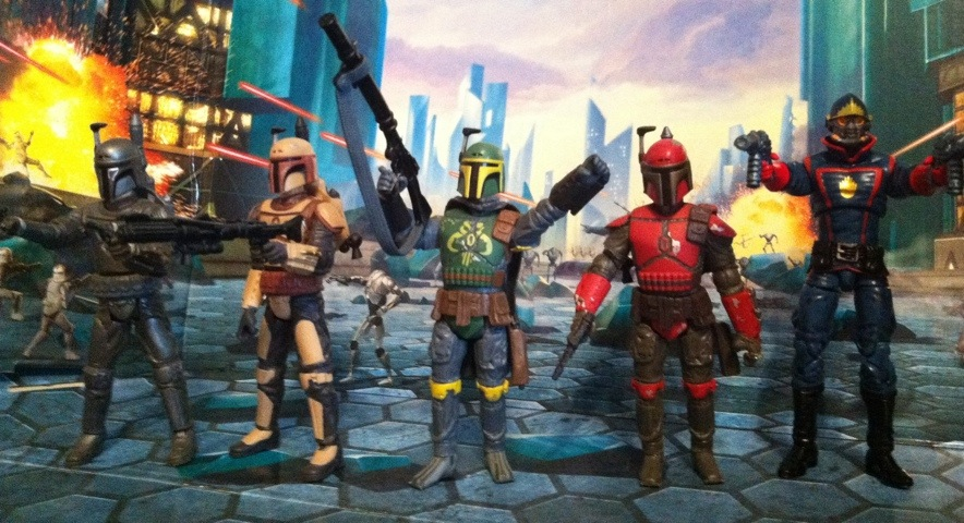 Starlord and the Mandalorian Army