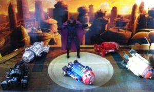 Ultimate Magneto vs. Astromech Droids Army