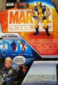 Astonishing Wolverine Marvel Universe Wave 16 (Hasbro)