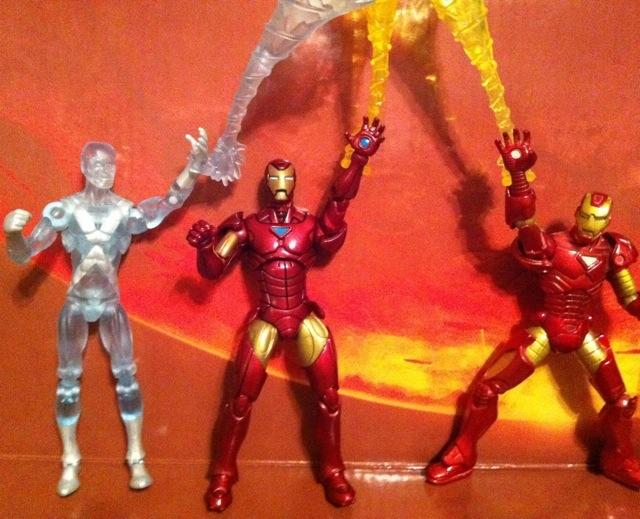 Tony Stark Iron Man Marvel Universe Hasbro Wave 16