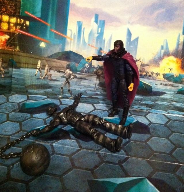Marvel Universe Absorbing Man vs. Magneto Wave 16