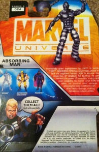 Absorbing Man Marvel Universe Wave 16