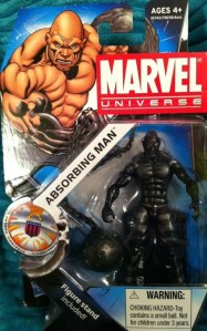 Absorbing Man Metal Skin Variant Marvel Universe Wave 16